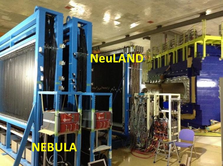 Détecteurs de neutrons NEULAND et NEBULA