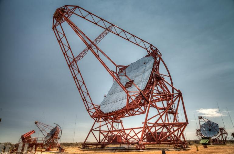Le réseau de télescopes H.E.S.S.
